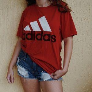 Vintage adidas logo shirt